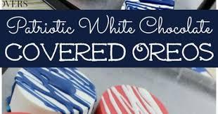 where can i buy white chocolate covered oreos patriotic white chocolate covered oreos recipe chocolate