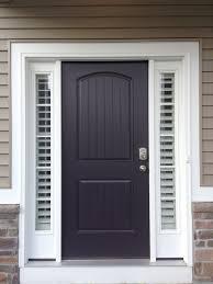 Blinds For Front Door Windows Entry Door Sidelight Window Shutters Cleveland Shutters