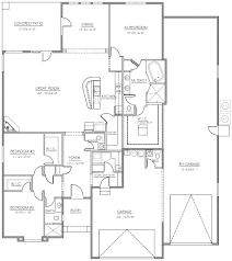Custom Home Floorplans by Lake Havasu Home Builder Tom Burns Builders Havasu Custom