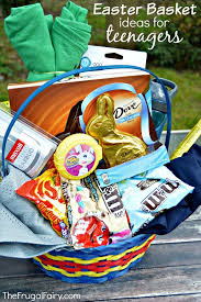 Gift Baskets For Teens Easter Basket Ideas For Teenagers And A Printable