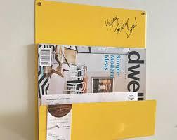 Magnetic Bulletin Board Dry Erase Board Etsy