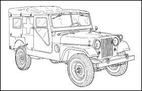 military jeep coloring page m170 willys ambulance jeep jeep coloring book pinterest