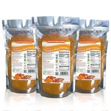 ranger cuisine organic turmeric root powder 24oz 680g 3 pack health