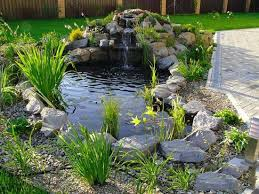 Backyard Waterfalls Ideas Bathroom Ideas Creative Backyard Design Small Rock Fish Pool