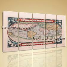 Large World Map Canvas by World Map Wall Art Map Stickers Ekse Previous U0026middot