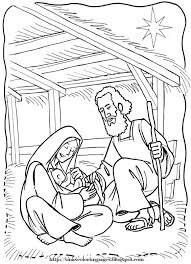 nativity coloring pages getcoloringpages com
