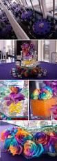 purple and tie dye club themed bat mitzvah the celebration society