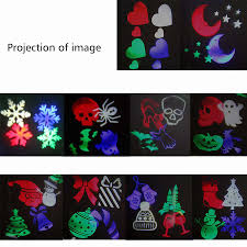 outdoor waterproof white rgb led moving halloween christmas