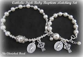 baby rosary bracelet catholic baby baptism set baby rosary bracelet and