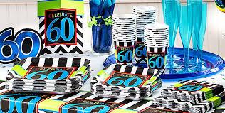 celebrate 60 birthday celebrate 60th birthday party supplies 60th birthday party city
