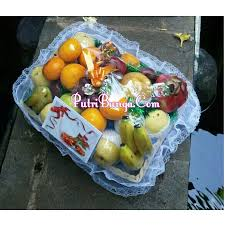 Jual Keranjang Parcel Pontianak jual parcel buah bunga di bekasi 08127221554 putribunga