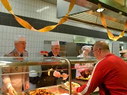 officers serve thanksgiving meal at usareur news stripes