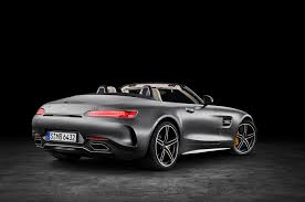 mercedes sls amg gt on the road in the 2018 mercedes amg gt c roadster automobile
