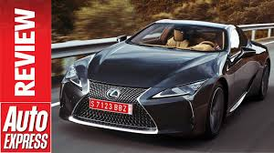 lexus lc reveal lexus lc coupe review striking gt car is full of tech