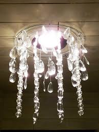 How To Make Chandelier At Home The Happy Homebodies Tutorial Diy Faux Chandelier