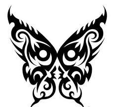 amazing tribal butterfly design beautiful butterfly tribal