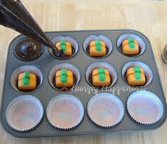 Halloween Cupcakes Cakes by Ultimate Cheesecake Stuffed Halloween Cupcakes Hungry Happenings