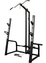 bench press u0026 squat rack lat pulldown combination 7ft barbell