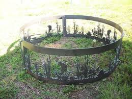 fire rings images Custom made fire rings by metal art more jpg