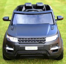 matte orange range rover maxi range rover hse sport style 12v electric battery ride on car