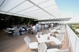 Contemporary Retractable Awnings Retractable Structures Fabric Architect
