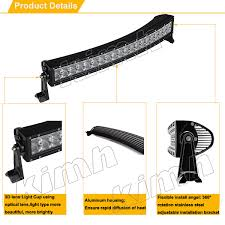 Rc Truck Light Bar Newest Design Top Quality Curved Brand Chip 50 U0027 U0027 240w Rc Truck