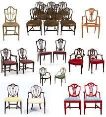 shield back dining room chairs mystery of design the elegant hepplewhite u201cshield back u201d chair