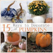 Decorate Pumpkin Confessions Of A Plate Addict 15 Easy Ways To Decorate With Pumpkins