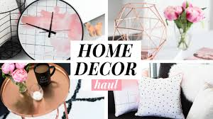 home decor haul copper blush marble youtube unique copper home