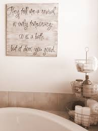 fine bathroom wall art sign relaxation gifts with ideas bathroom