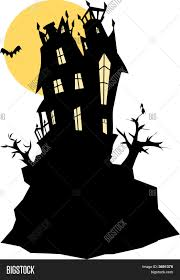 haunted house clipart free haunted house stock vector u0026 stock photos bigstock