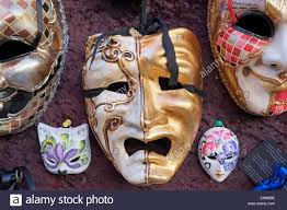 carnival masks for sale venetian carnival masks for sale in venice italy stock photo
