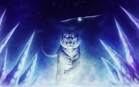 glowing white tiger wall murals google search bella jasmine s white dragon glowing white tiger wall murals