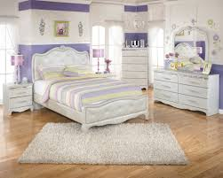 Ashley Bedroom Set With Leather Headboard Furniture White Leather Girls Bed With Tufted Headboard And