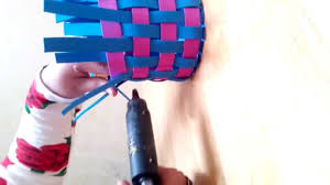 handmade craft ideas kids diy foam basket tutorial youtube