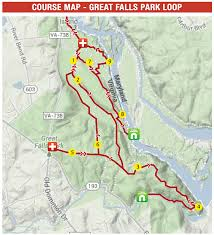 Great Loop Map North Face 50 Miler In D C U2013 A Race In Three Parts Brbrunning Com