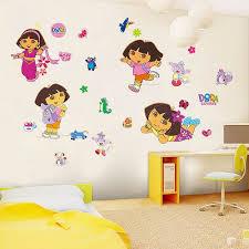 dora wall sticker art decal girls room decor girls room nursery