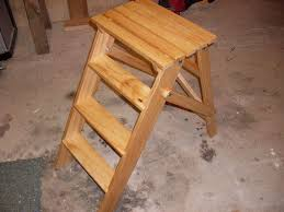 folding wooden stepladder 15 steps with pictures