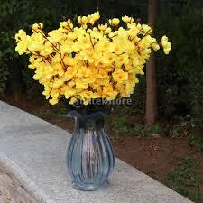 artificial flower home decor aliexpress com buy artificial peach blossom 7 stems silk flower