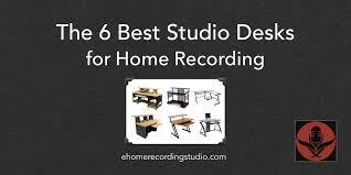 Creation Station Studio Desk The 6 Best Studio Mixing Desks For Home Recording