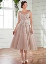 tea length dress buy discount amazing tulle bateau neckline tea length a line