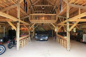 equine barn company sand creek post and beam garages garagens