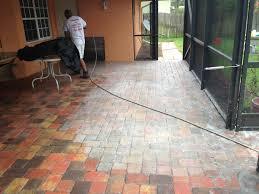 Patio Pavers Orlando by Orlando Fl Patio Sealant Brick Paver Sealing Cleaning