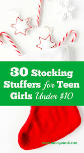 stocking stuffers for teen girls under 10 teen frugal living