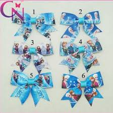 hair bows wholesale 3 baby ribbon hair bow frozen hair bow for baby boutique frozen