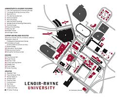 Morgan State University Map by Campus Map U0026 Directions Lenoir Rhyne University