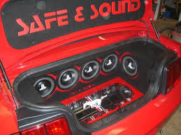 ford mustang audio system 2005 ford mustang car audio install