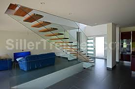 tempered glass open staircase floating stairs by siller treppen