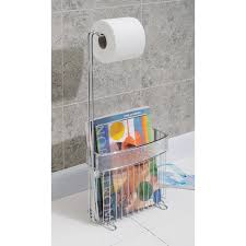 Toilet Paper Holder Wood Fascinating Toilet Paper Holder With Magazine Rack Pictures Design