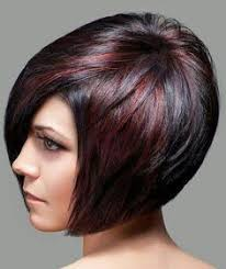 brunette hairstyle with lots of hilights for over 50 short hair styles for women with red highlights short hairstyles